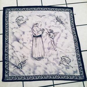 Large Religious Scarf NWOT